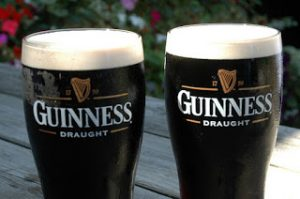 St Patrick´s day… 2 Guinness