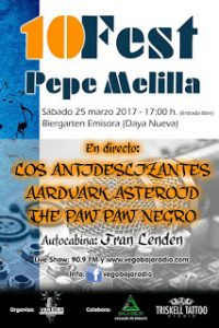 10º Pepe Melilla Festival