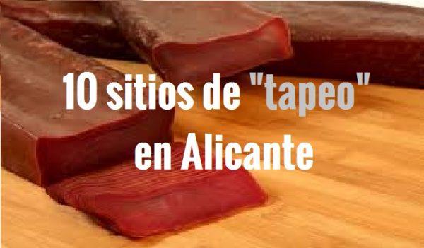 10 sitios de tapas para antes de un concierto en Alicante