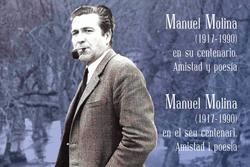 Manuel Molina en su centenario. Amistad y Poesía