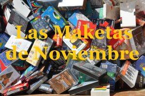Ep´s: Las mejores maketas de Noviembre