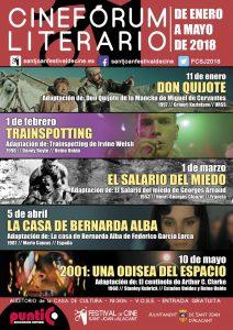 IV Cinefórum Literario de Sant Joan