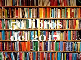 Los 50 mejores libros del 2017