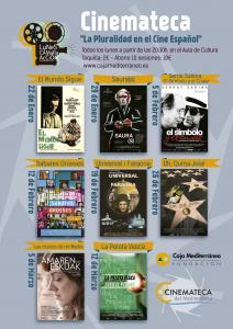Programación de la Cinemateca del Mediterráneo (febrero a marzo)