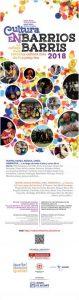 Cultura en Barrios de Febrero a abril
