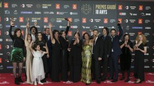 Ganadores de los premios Gaudí 2018