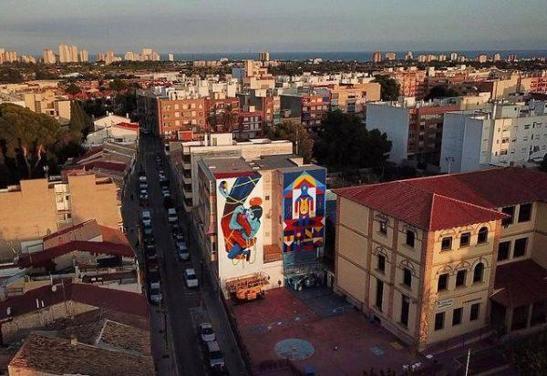 El arte en la calle sabe mejor que el alcohol
