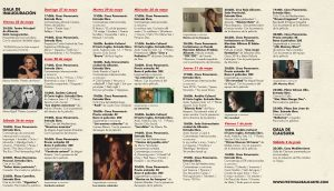 Programación del Festival de Cine de Alicante 2018