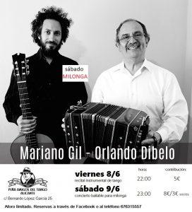 Conciertos en La peña del Tango de Alicante