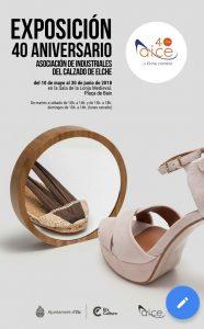Exposición 40 aniversario de AICE