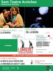 La semana en el Teatre Arniches