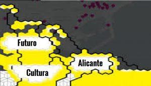 """Exposición del """"Mapa Cultural de Alicante"""" en las Cigarreras. Viernes 11 de mayo"""