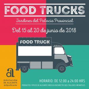Food Trucks en el Palacio Provincial