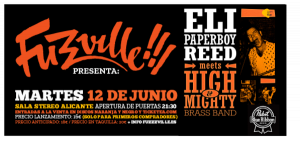 """Eli """"Paperboy"""" y su hoguera soul llegan a Alicante…"""
