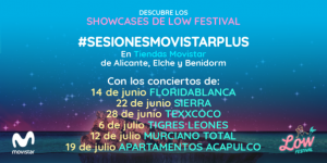 El Low nos regala Sesiones Movistar+con Texxcoco, Tigres Leones, Sierra…