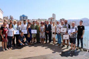 Premiados de la 8ª edición del Concurso de Tapas y Pinchos de Benidorm
