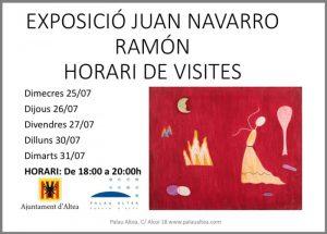La exposición de Juan Navarro Ramón en Altea…