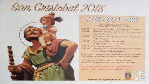 Programa de las Fiestas de San Cristobal en Onil