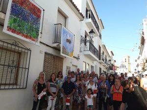 Balconades y Xicotet Format en las calles de Altea