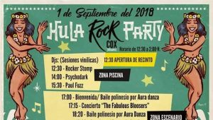 Horarios del Hula Rock Party