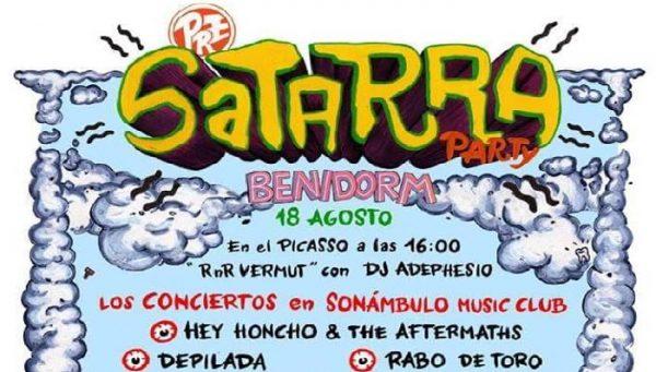 Fiesta Pre-Satarra en Benidorm