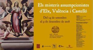 Los misterios asuncionistas de Elche, Valencia i Castellón