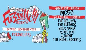 The Bellrays, The Rubinoos, Girls Names, Aliment y Scape-ism en Alicante