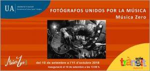 Fotógrafos unidos por la música