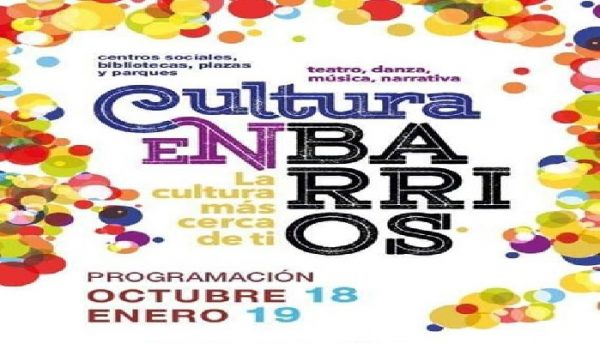 Cultura en Barrios (de octubre a enero)