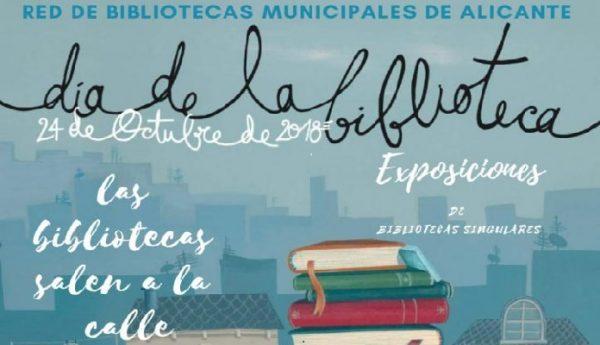 El día Nacional de Las Bibliotecas en Alicante