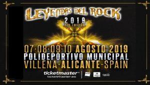 Leyendas del Rock y Rabolagartija se quedan en Villena