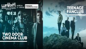 Two door cinema Club y Teenage fan club al Warm UP 2019