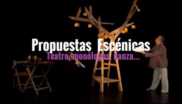 Agenda de escénicas en la Provincia de Alicante (del 11 al 14 de abril)