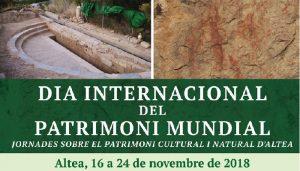 Jornadas del Patrimonio Cultura y Natural de Altea.