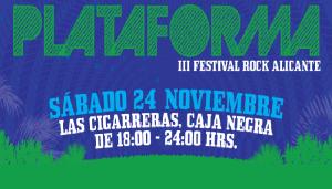 Vuelve el Festival Plataforma