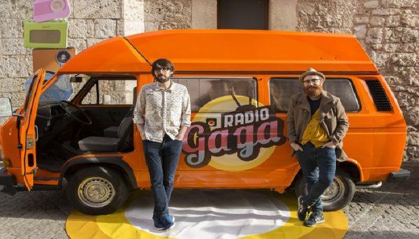 La furgo de Radio Gagá llega a Alicante...