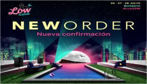 ¡Sorpresón! New Order al Low