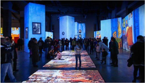 Últimos días para ver la exposición Va Gogh Alive