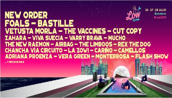 11 nuevas confirmaciones para el Low Festival 2019