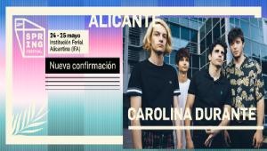 Tras el Sold Out, Carolina Durante volverán a Alicante en Mayo
