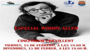 Cineforum Crevillente. Especial Woody Allen