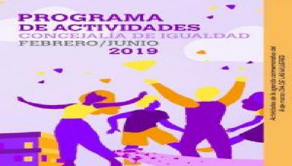 Actividades de la Concejalía de Igualdad de Alicante (Hasta junio)