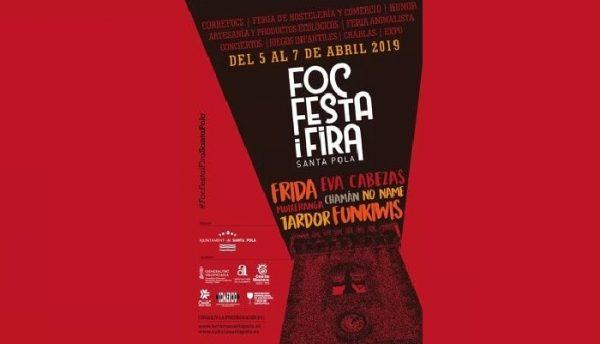 Programación del Foc, Festa i Fira 2019 en Santa Pola