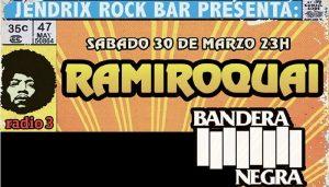 Ramiroquai en el Jendrix