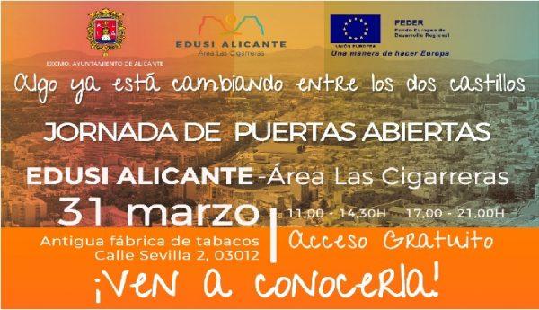 Puertas abiertas del EDUSI Alicante