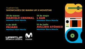Nuevos showcases del Warm Up en Murcia