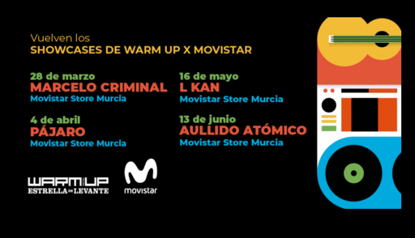 Nuevos showcases del Warm Up en Murcia