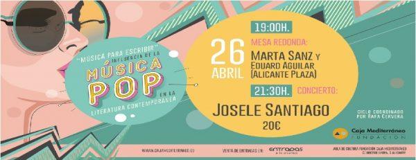 Entradas para el concierto de Josele Santiago