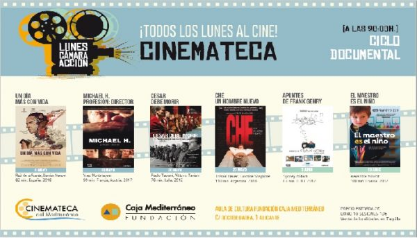 6 documentales nuevos en La Cinemateca del Mediterráneo