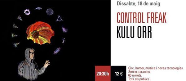 Kulu Orr, un espectáculo diferente para divertirse el sábado